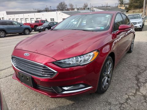 Certified Pre-Owned 2017 Ford Fusion SE FWD 4dr Car