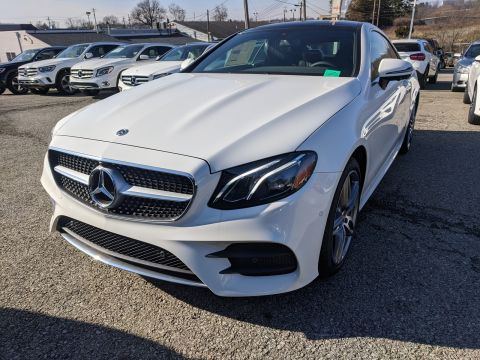 New 2020 Mercedes-Benz E 450 E 450 AWD 4MATIC 2dr Car