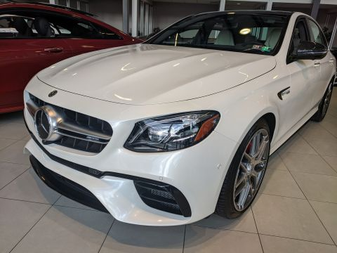 New 2020 Mercedes-Benz AMG® E 63 AMG® E 63 S AWD 4MATIC 4dr Car
